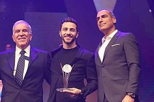 NASCAR Euro Breaking news NASCAR Next driver Alon Day receives prestigious honor in home country