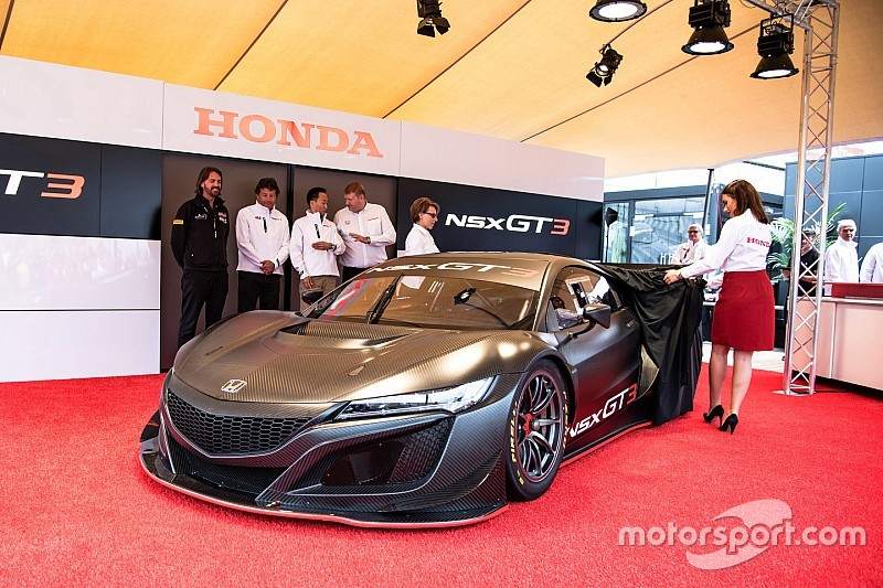 Honda NSX GT3 to be made available to customers