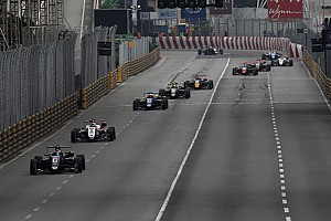 F3 News Ärger über Yokohama-Reifen beim Formel-3-Weltcup Macao