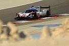 WEC Porsche lidera el último entrenamiento en Bahrein