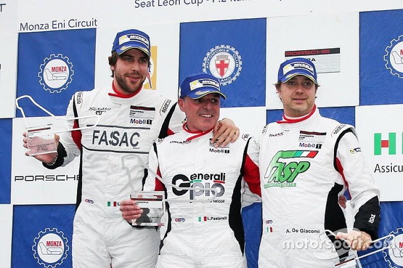 Carrera Cup Italia, Pastorelli è il re della Michelin Cup a Monza