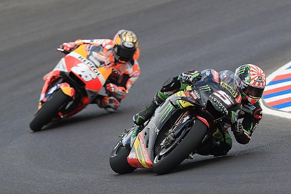 MotoGP Zarco se disculpa por causar caída de Pedrosa