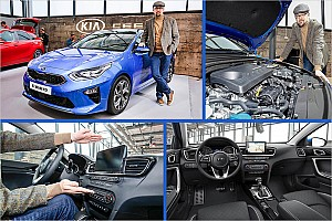 Automotive News Kia Ceed 2018: Sitzprobe