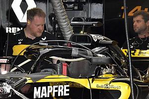 Formule 1 Actualités Renault teste à son tour les rétroviseurs sur le Halo
