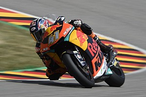 Moto2 Race report Sachsenring Moto2: Binder holds off Mir for first win