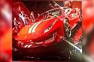 Auto La Ferrari 488 Special Series fuite sur internet!