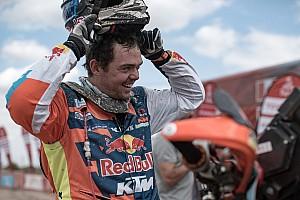 """Dakar Nieuws Nog 119 kilometer voor Walkner: """"Misschien komt mijn droom uit"""""""