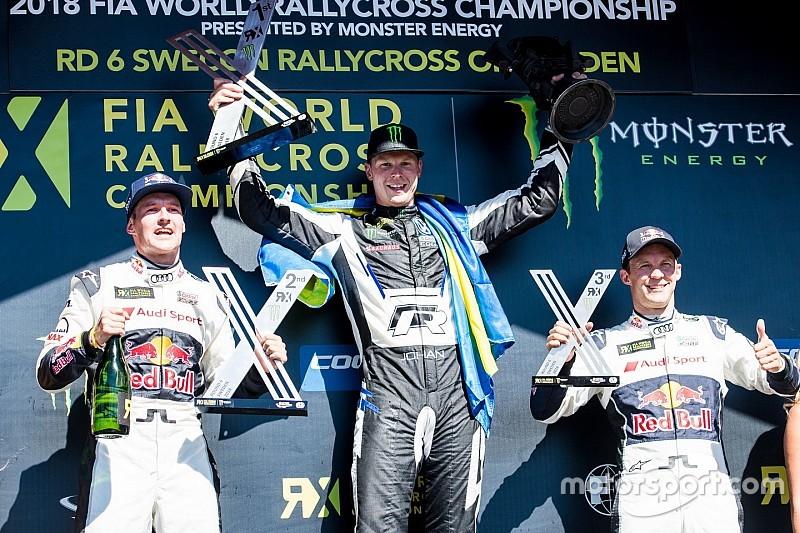 İsveç Dünya RX: Kristoffersson üst üste üçüncü galibiyetini aldı