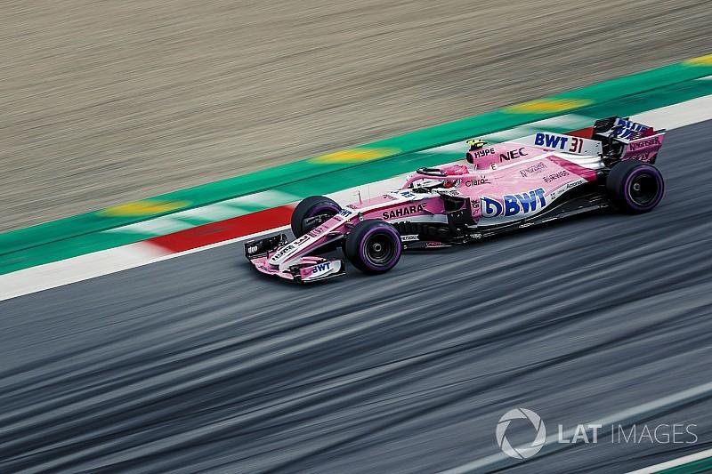 Force India, güncellemenin gecikmesinden etkilenmiş