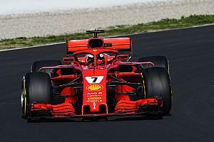 Fórmula 1 Crónica de test Raikkonen lidera la última mañana y McLaren vuelve a sufrir