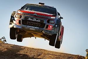 WRC Réactions Loeb :