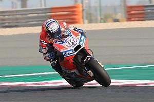 MotoGP Test Test Qatar, Giorno 2, Ore 17: Dovizioso precede di poco le Honda