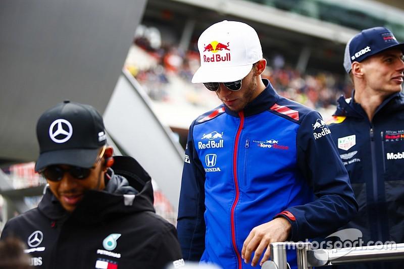 Gasly : Hamilton, Vettel et les autres m'ont soutenu après ma pénalité