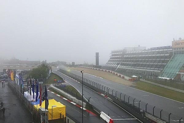 Rode vlag in 24 uur van Nürburgring door dichte mist