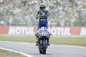 MotoGP Actualités Pour Rossi, 2017 est une saison tantôt frustrante tantôt excitante