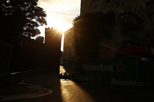 Forma-1 Motorsport.com hírek Azerbajdzsáni Nagydíj: F1-es idő-és menetrend