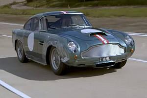 Auto Actualités Vidéo - Premier roulage pour une Aston Martin DB4 GT neuve!