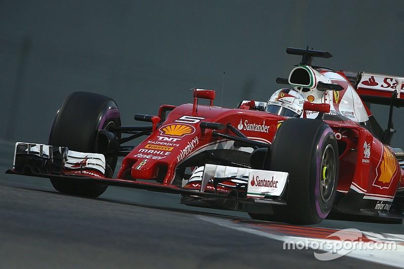 """Vettel hails """"very good"""" Friday despite stoppage"""