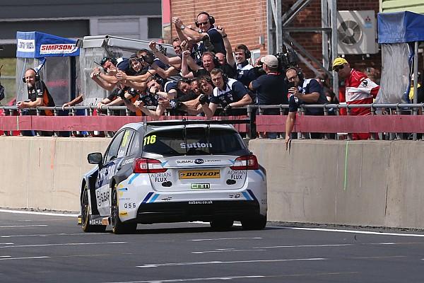 BTCC Snetterton BTCC: Sutton doubles up, takes points lead