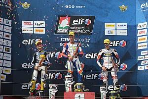 CIV Moto3 Gara Nicholas Spinelli vince dopo la penalizzazione di Groppi