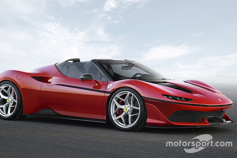 Découvrez la nouvelle Ferrari J50!