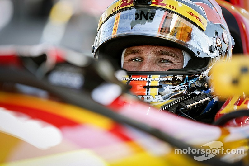 Indy 500: Hunter-Reay leads early running on Day 2