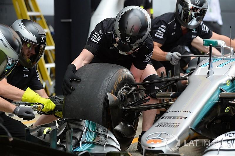 A Mercedes mindenhol vezet, a bokszutcában is