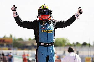 GP3 Отчет о гонке Новый пилот по развитию Haas впервые выиграл гонку GP3