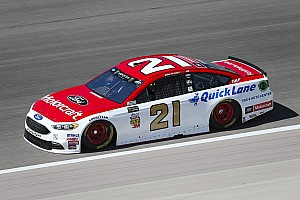 NASCAR Cup Race report Ryan Blaney takes Stage 2 victory at Kansas