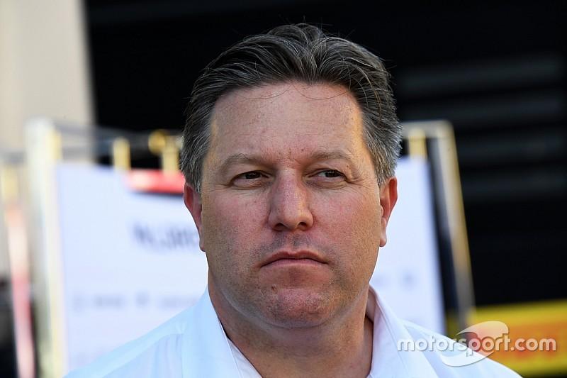 Зак Браун призвал команды поступиться интересами ради будущего Ф1