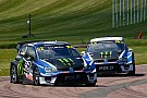 World Rallycross Lydden WRX: Solberg wins as Ekstrom suffers puncture