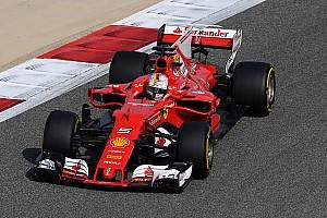 F1 Reporte de prácticas Vettel lideró la FP1 de Bahrein y Pérez fue cuarto