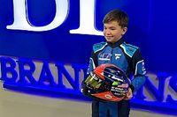 """F1王者フィッティパルディの""""12歳の息子""""、F1目指し早くもスポンサー獲得"""