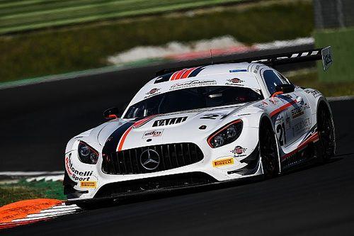 GT Italiano: Linossi-Colombo-Ferrari il trio Mercedes-Antonelli