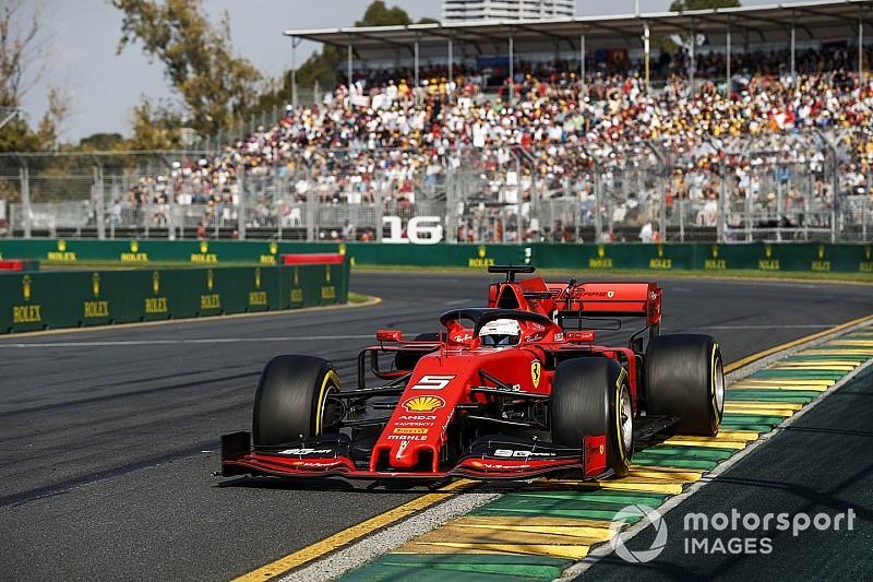 Vettel, Mercedes'in kolayca kazanması karşısında şoke olmuş