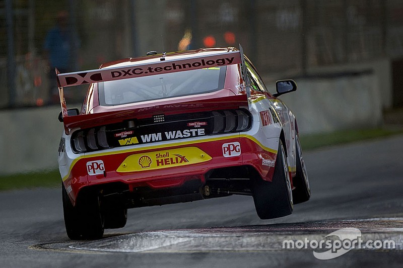 Adelaide 500: Coulthard secures debut pole for the Mustang