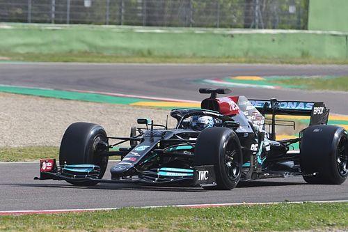 Mercedes, iki günlük Pirelli lastik testini tamamladı