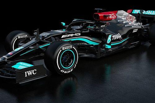 Mercedes показала миру свой новый болид Формулы 1