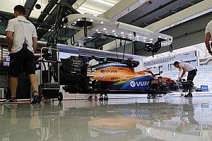 مكلارين تكمل التشغيل الأول لمحرك مرسيدس الجديد في سيارتها لموسم 2021