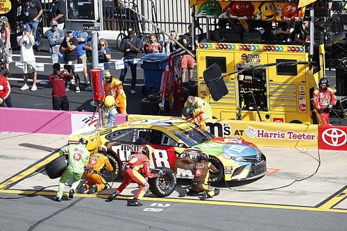 NASCAR suspends crew chief of Cup playoff driver Kyle Busch