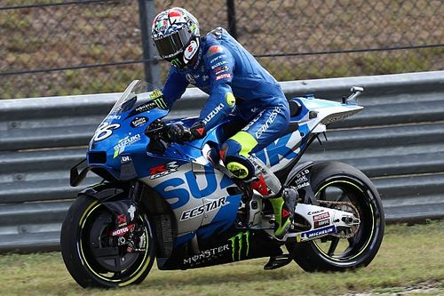 """Mir was """"scared"""" when Suzuki blew up in COTA MotoGP practice"""