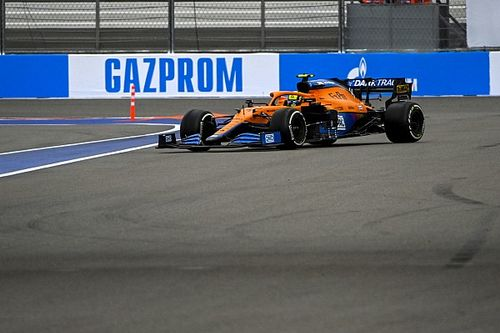 Norris gets reprimand for F1 pitlane entry incident in Sochi