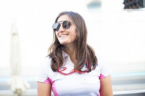 Calderón sai da F2 e será a 1ª mulher a correr na Super Fórmula