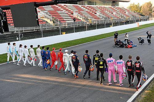 "F1车手讨论在奥地利""屈膝"",以示反对种族主义"