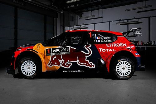 Los equipos del WRC presentaron sus autos para 2019