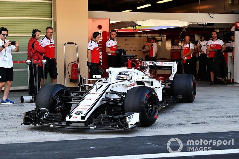 Tes F1 Abu Dhabi: Reuni Raikkonen-Sauber, Gelael turun hari ini