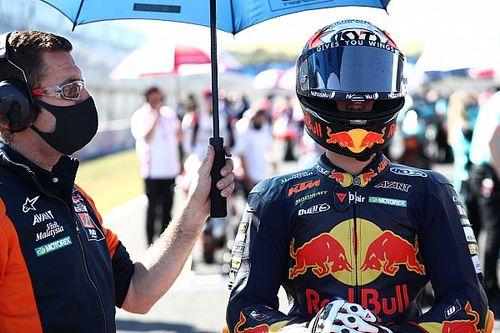 Masia Akui Tak Bisa Hindari Insiden Lap Terakhir Jerez