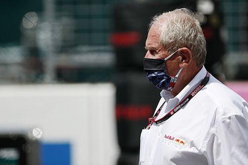 """F1: Marko critica """"show"""" da Mercedes em acidente entre Verstappen e Hamilton"""