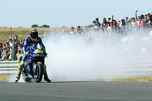 Statistics from Valentino Rossi's MotoGP career