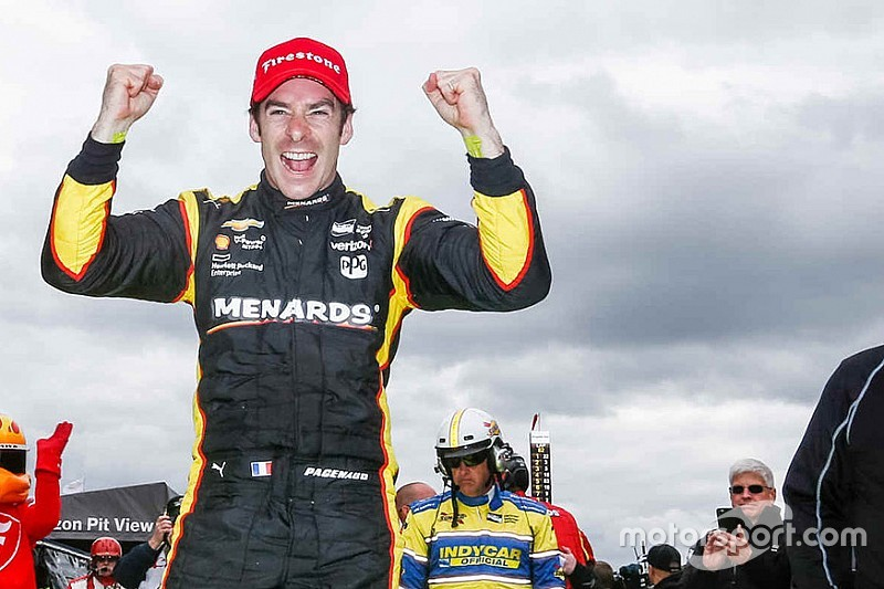 Pagenaud perfect again, scores third straight victory